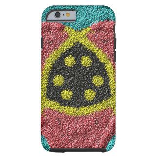 Colorful rough texture tough iPhone 6 case
