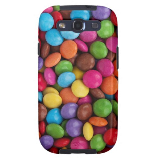 Colorful Round Chocolate Candy Sweets Galaxy SIII Cover