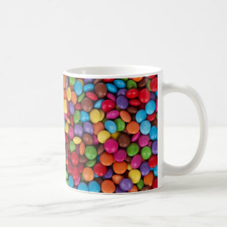 Colorful Round Chocolate Candy Sweets Coffee Mug