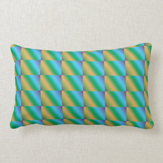 Colorful Row Pattern Triangles Pillows