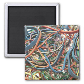 Colorful Rubber Bands Magnet