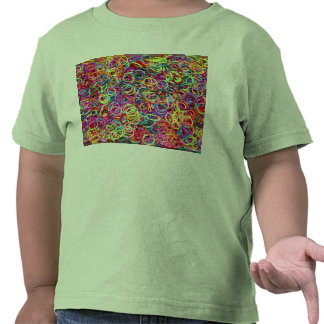 Colorful Rubberbands Tee Shirts