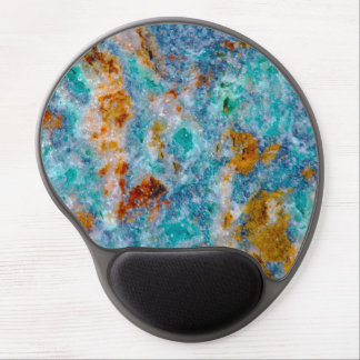 Colorful Ruff Marble Stone Pattern Gel Mouse Pad