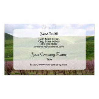 Colorful Rural Landscape Business Cards