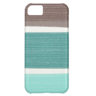 Colorful Rustic Wide Stripes iPhone iPhone 5C Cover