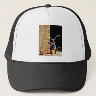 Colorful s tricycle trucker hat
