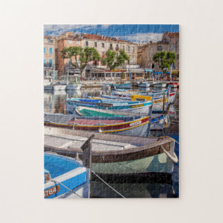 Colorful sailboats puzzle