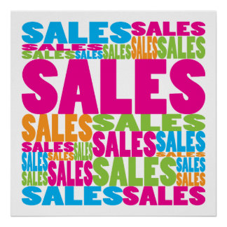 Colorful Sales Poster