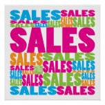 Colorful Sales Print