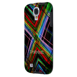 Colorful Samsung Galaxy s4 cover for Patrick