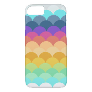 Colorful Scalloped iPhone 7 case