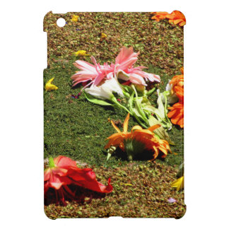 Colorful scenery of forgotten flowers case for the iPad mini