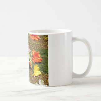 Colorful scenery of forgotten flowers coffee mug