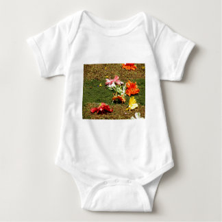 Colorful scenery of forgotten flowers tee shirt