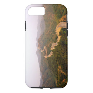 Colorful scenic at the great Wall of China in iPhone 7 Case