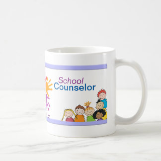 Colorful School Counselor Mug