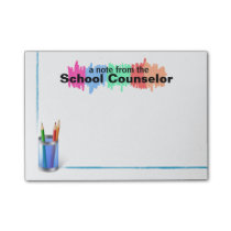 Colorful School Counselor Notes