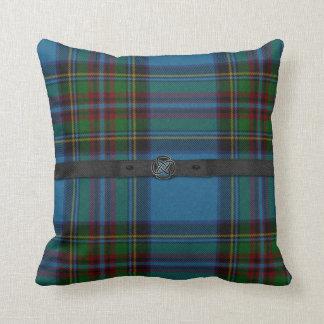 Colorful Scottish Tartan Plaid Pillow