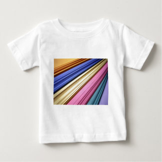 Colorful scrapbook papers baby T-Shirt