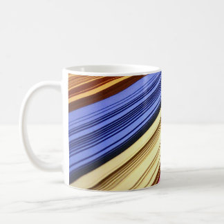 Colorful scrapbook papers coffee mug