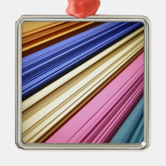 Colorful scrapbook papers ornaments