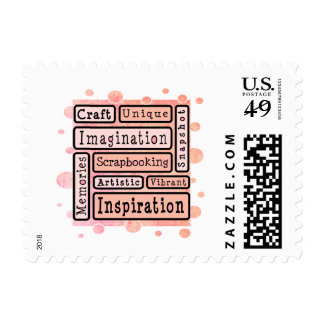 Colorful Scrapbooking Stamps
