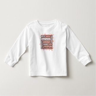 Colorful Scrapbooking Toddler T-shirt