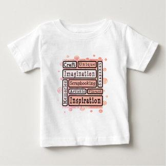 Colorful Scrapbooking Tee Shirts
