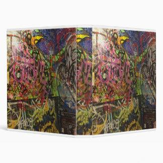Colorful Scribble Graffiti Binder