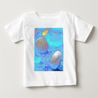 Colorful Sea Glass Baby T-Shirt