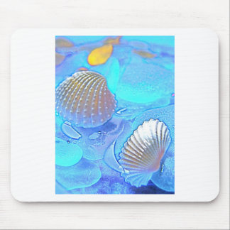 Colorful Sea Glass Mouse Pad