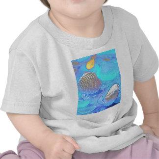 Colorful Sea Glass T Shirt