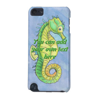 Colorful Sea Horse iPod Case