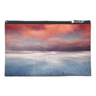 Colorful Sea Ice Reflection Travel Accessory Bag