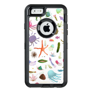 Colorful Sea Life OtterBox iPhone 6/6s Case