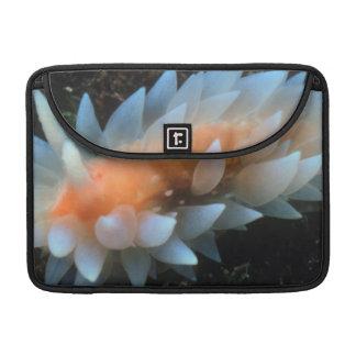 Colorful Sea Slug Sitting On The Surface Sleeve For MacBooks