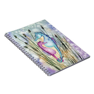 Colorful Seahorses Notebook