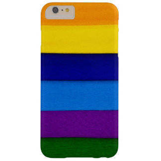 Colorful Seams Barely There iPhone 6 Plus Case