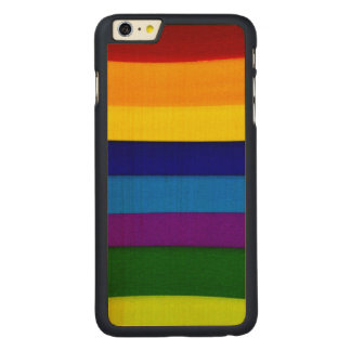 Colorful Seams Carved® Maple iPhone 6 Plus Slim Case