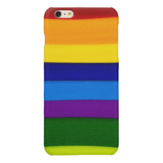 Colorful Seams Glossy iPhone 6 Plus Case