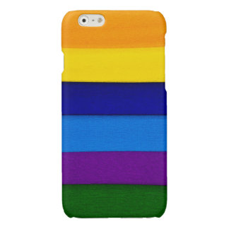 Colorful Seams Glossy iPhone 6 Case