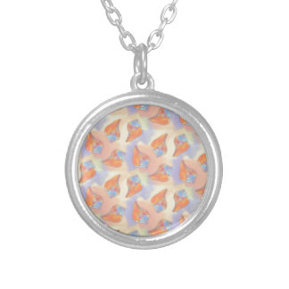 Colorful Seashell Pattern Pendants