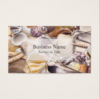 Colorful Seashells Business Card