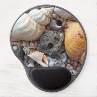 Colorful Seashells Gel Mouse Pad