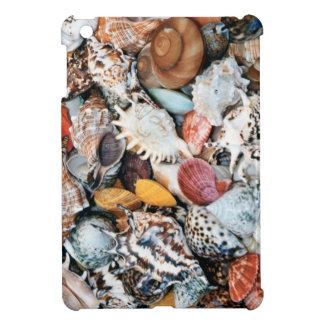 Colorful Seashells iPad Mini Cover