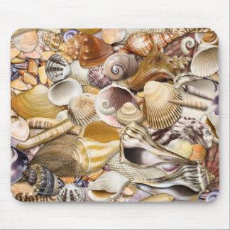 Colorful Seashells Mouse Pad