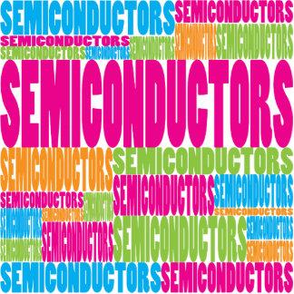 Colorful Semiconductors Photo Sculpture