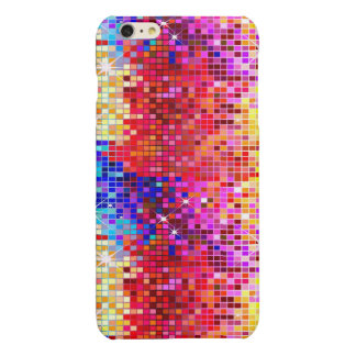 Colorful Sequins Look Disco Mirrors Glossy iPhone 6 Plus Case