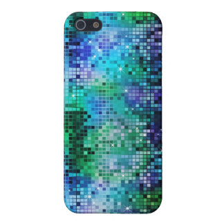 Colorful Sequins Look Disco Mirrors Pattern 5 Cover For iPhone 5/5S