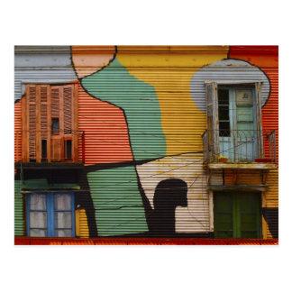 Colorful Shacks Buenes Aires Argentina Postcards